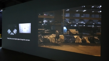 No Man is An Island (2015), Video on Single Channel Projection