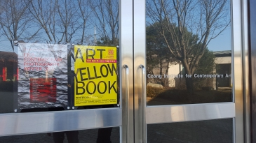 ART YELLOW book Winter Show, Entrance