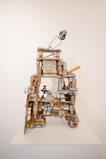 No need to ask, these are all treasures, Jennifer Ng, Mixed Media and Cement, Variable